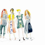 Color Trail for Gina Tricot spring/summer collection