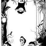 Scary illustrations for kids song