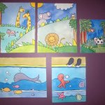 Wall paintings for kids room